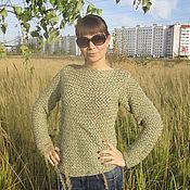 Одежда ручной работы. Ярмарка Мастеров - ручная работа Плетёный свитерок. Handmade.