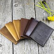 Сумки и аксессуары handmade. Livemaster - original item Passport cover with pockets. Handmade.