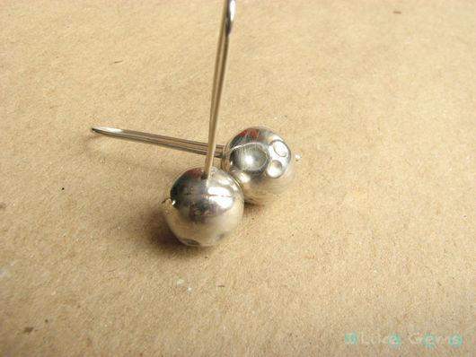 Серьги ручной работы. Ярмарка Мастеров - ручная работа. Купить Серьги Шарики из серебра. Handmade. Серебро, серебряный, серебряные шарики