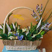 Цветы и флористика ручной работы. Ярмарка Мастеров - ручная работа майская сирень. Handmade.