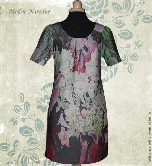 шерстяное платье Эдемский Сад 2