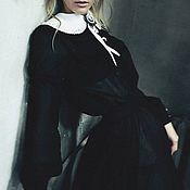 Одежда ручной работы. Ярмарка Мастеров - ручная работа Черное вечернее платье. Handmade.
