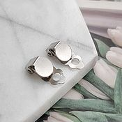 Материалы для творчества handmade. Livemaster - original item Base for clips PL. 8 mm steel (4553). Handmade.