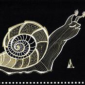 handmade. Livemaster - original item Pictures: Snail. Handmade.