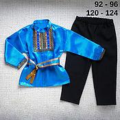 Работы для детей, handmade. Livemaster - original item Children`s Russian folk costume boy`s national men`s. Handmade.