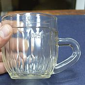 Винтаж handmade. Livemaster - original item 0,25 liter beer mug 1950s. Handmade.