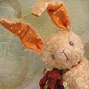 """Куклы и игрушки ручной работы. Ярмарка Мастеров - ручная работа Заяц Морковь из серии """"Зайчики в трамвайчике"""". Handmade."""