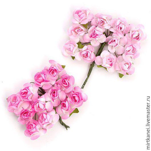 Открытки и скрапбукинг ручной работы. Ярмарка Мастеров - ручная работа. Купить Цветы бумажные. Розы. Handmade. Розовый, цветы