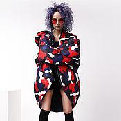 Одежда handmade. Livemaster - original item Cool down jacket with zipper and hood