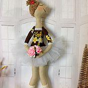 Куклы и пупсы ручной работы. Ярмарка Мастеров - ручная работа Балерина в белой пачке. Handmade.