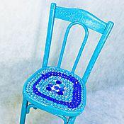 Стулья ручной работы. Ярмарка Мастеров - ручная работа Венский стул бирюзовый. Handmade.