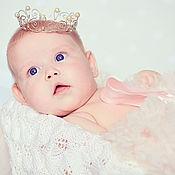 Украшения ручной работы. Ярмарка Мастеров - ручная работа Корона для самой сладкой принцессы. Handmade.