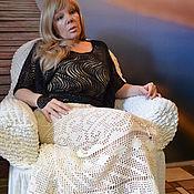 """Одежда ручной работы. Ярмарка Мастеров - ручная работа Юбка вязаная """"На чай к Лиз"""". Handmade."""