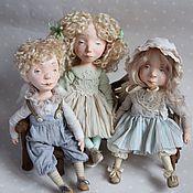Куклы и игрушки ручной работы. Ярмарка Мастеров - ручная работа Все дети ангелы 2 куклы будуарные. Handmade.