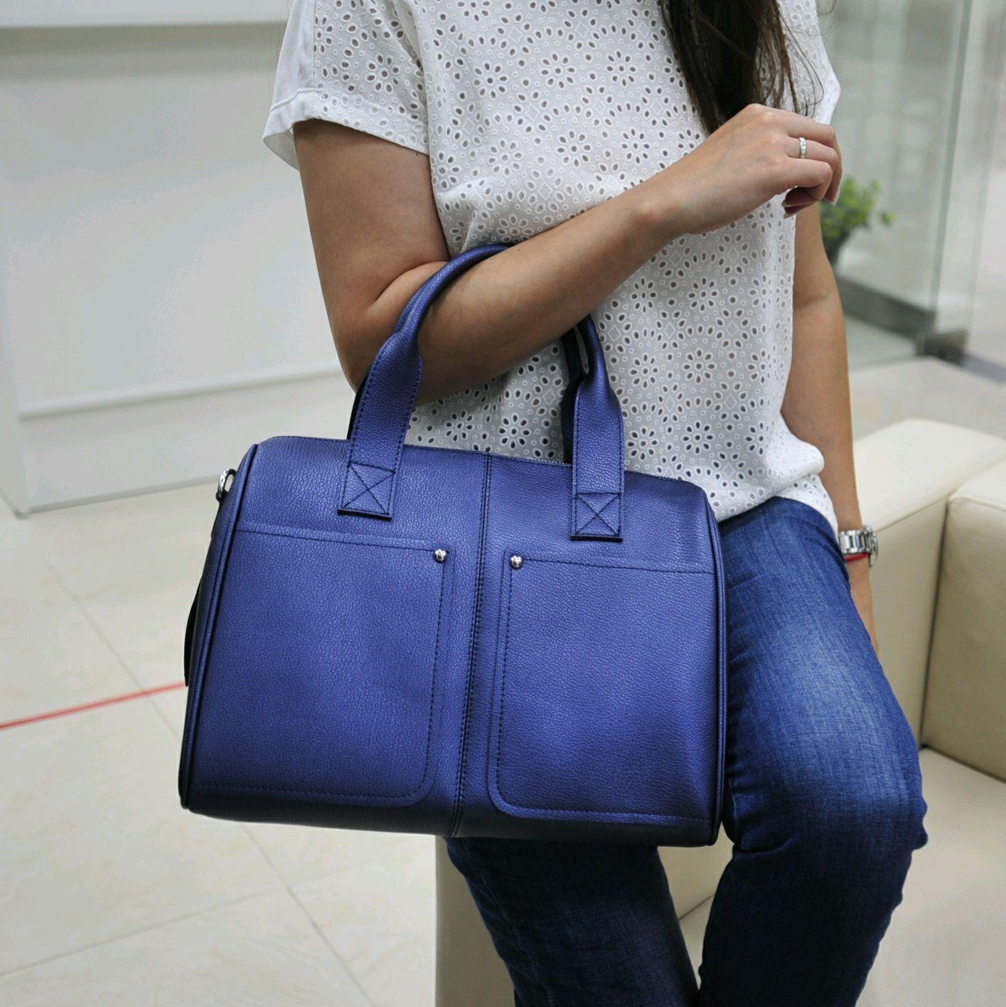 Женская кожаная сумка, Сумка-торба, Балашиха,  Фото №1