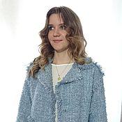 Одежда ручной работы. Ярмарка Мастеров - ручная работа Жакет  плетеный. Handmade.