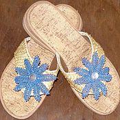 Обувь ручной работы. Ярмарка Мастеров - ручная работа летний восторг. Handmade.