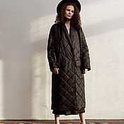 Одежда handmade. Livemaster - original item Women`s down jacket SILVASHI. Handmade.