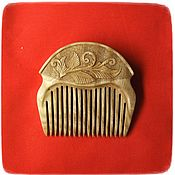 Сувениры и подарки handmade. Livemaster - original item Combs: Wooden comb FERN. Handmade.