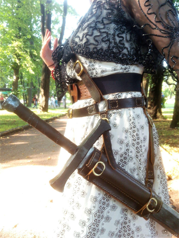 Перевязь для меча, Доспехи, Петергоф, Фото №1