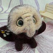 Куклы и игрушки ручной работы. Ярмарка Мастеров - ручная работа Слоник Ромашка. Handmade.