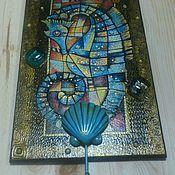 Для дома и интерьера ручной работы. Ярмарка Мастеров - ручная работа Ключница Морской конек. Handmade.