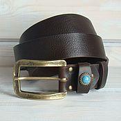 Аксессуары handmade. Livemaster - original item Leather belt female Notitle.. Handmade.