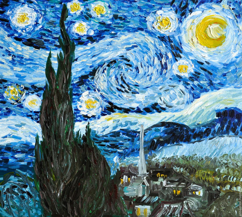полотна картины ван гога фотогалерея экспозициях