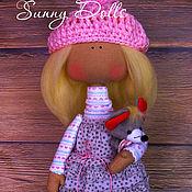 Куклы и игрушки ручной работы. Ярмарка Мастеров - ручная работа Миа с мышонком. Handmade.