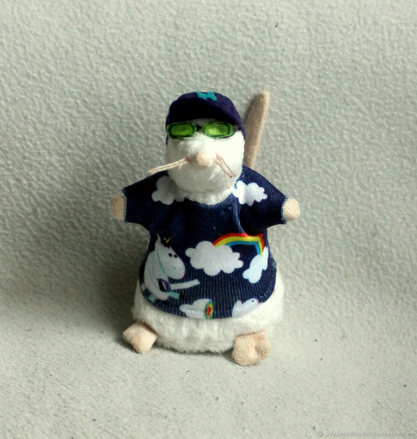 Cute swag mouse with unicorn jersey t-shirt, Stuffed Toys, Saint-Etienne,  Фото №1
