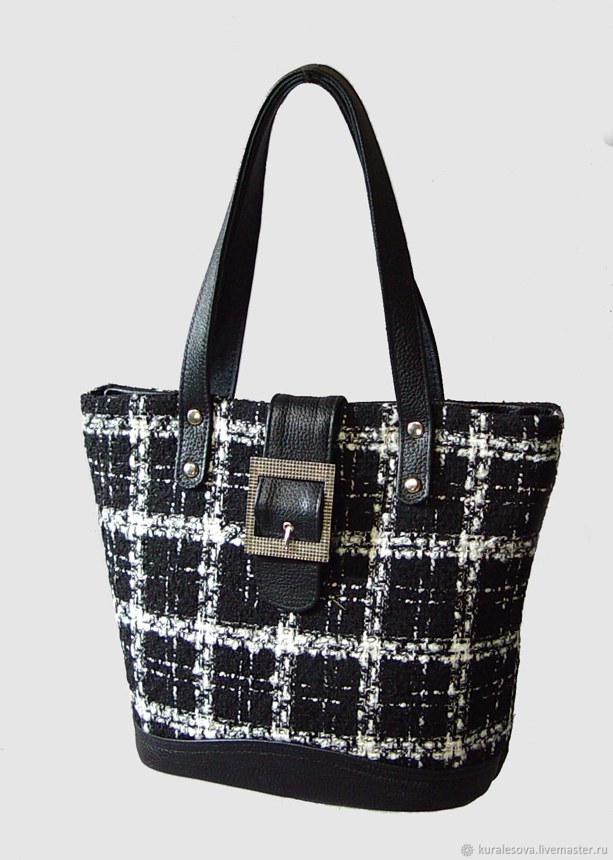 Handbags handmade. Livemaster - handmade. Buy Bag ' English tweed'.Hand-made, marina speranskaya, backing cloth
