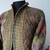 Одежда handmade. Livemaster - original item Jacket knitted Needles interlock. Handmade.