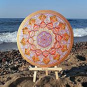 Картины и панно handmade. Livemaster - original item Amber Mandala Talisman of Light. Handmade.