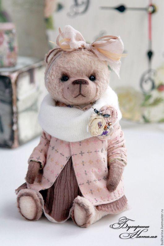 Мишки Тедди ручной работы. Ярмарка Мастеров - ручная работа. Купить Мишка Тедди Тея  (Участвует в выставке ХТ 2016). Handmade.