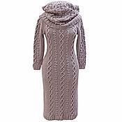 Одежда handmade. Livemaster - original item Dress warm and LICs Cones and waves. Handmade.