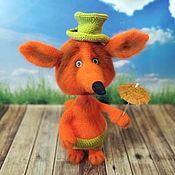 Куклы и игрушки handmade. Livemaster - original item Red Fox. Handmade.