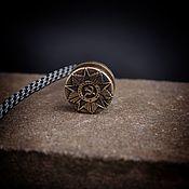 Сувениры и подарки handmade. Livemaster - original item Bead for lanyard order of the Patriotic war ,a bead for a knife. Handmade.