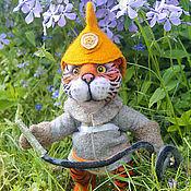 Куклы и игрушки ручной работы. Ярмарка Мастеров - ручная работа Тигруля-Пожарррный. Handmade.