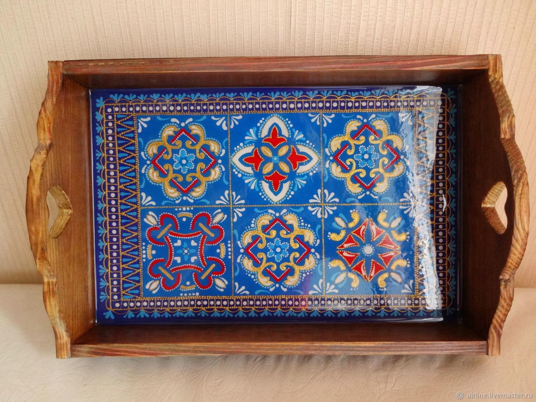 Поднос в марокканском стиле, Подносы, Москва, Фото №1