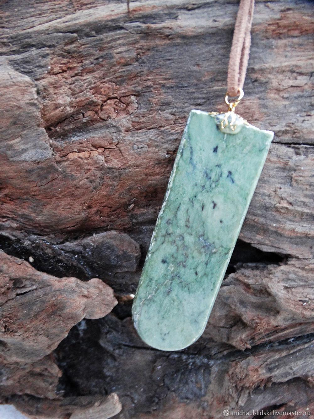 TONGUE. Greenstone pendant, Pendants, Christchurch,  Фото №1