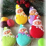 Косметика ручной работы handmade. Livemaster - original item Christmas Soaps Snowman cookie, 2018. Handmade.