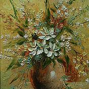 Картины и панно handmade. Livemaster - original item Floral fantasy. Handmade.