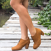 Обувь ручной работы handmade. Livemaster - original item Leather ankle boots . Women`s shoes genuine leather. Handmade.