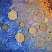"""Картины и панно ручной работы. Ярмарка Мастеров - ручная работа Картина """"Солнечная система"""". Handmade."""