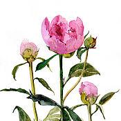 """Картины и панно ручной работы. Ярмарка Мастеров - ручная работа """"Цветы весны"""". Handmade."""