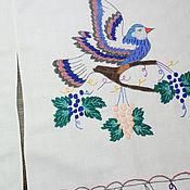 Материалы для творчества handmade. Livemaster - original item Vintage fabric scraps Embroidered pieces for creativity fabric Trimming. Handmade.