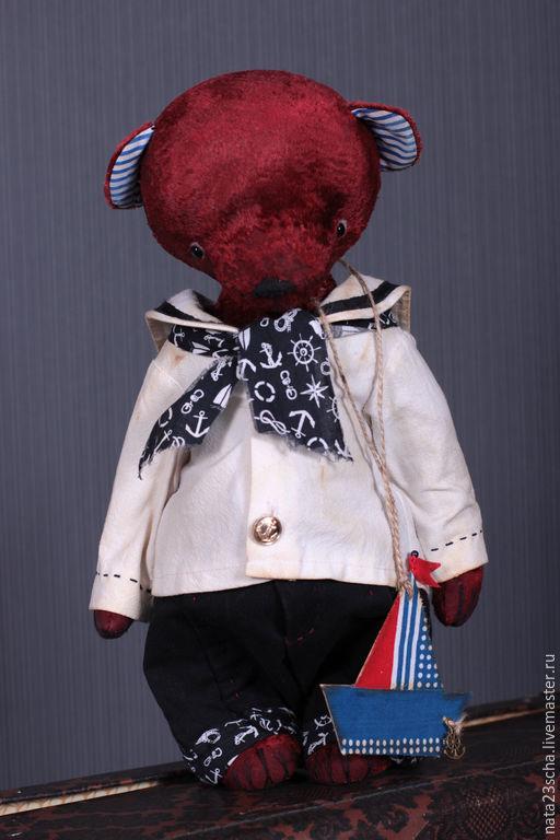 Мишки Тедди ручной работы. Ярмарка Мастеров - ручная работа. Купить Борька. Handmade. Коричневый, опилки, опилки древесные