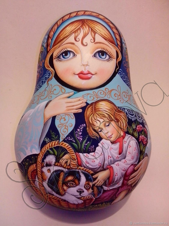 Неваляшка со звоном Дружок, Матрешки, Сергиев Посад,  Фото №1