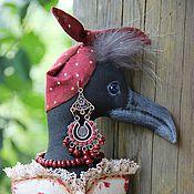 Куклы и игрушки ручной работы. Ярмарка Мастеров - ручная работа ПрЭлестная ворона Карлетта. Handmade.