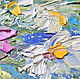 Painting daisies 'Bright Expectations' oil painting of daisies. Pictures. Multicolor Gallery. My Livemaster. Фото №4